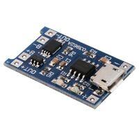 5 pcs 1A 5V Micro-USB TP4056 Lithium Battery Power Charger Board Module TE4 C3K4