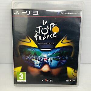 Le Tour De France Season 2014 + Manual - Playstation 3 PS3 - Free Tracked Post