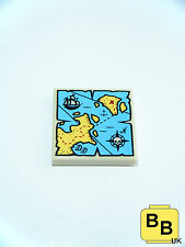 LEGO PIRATE IMPERIAL SOLDIER MINIFIGURE TREASURE MAP TILE ACCESSOIRES
