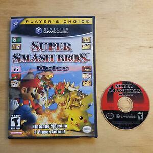 Super Smash Bros. Melee (GameCube, 2001) Original case & cover, no manual