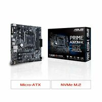Asus Prime PRIME A320M-K Desktop Motherboard - AMD A320 Chipset - Socket AM4