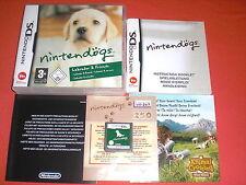 Nintendo DS : Nintendogs Labrador et ses amis [PAL] 3DS Super *JRF*