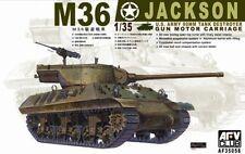 1/35 AFV Club M-36 Jackson 90mm WWII Tank Gun Motor Carriage #35058