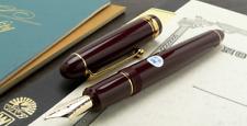 Pilot NAMIKI Custom 742 Fountain Pen Deep Red 14K #10 Converter EF / F / M / B