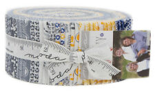 "Moda Harmony Jelly Roll 2.5"" Precut Fabric Quilting Strips Sweetwater 5690JR"