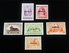 nystamps British Samoa Stamp # 136-141 Mint Og H $41 J15y3248