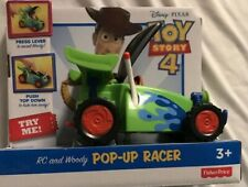 TOY STORY 4 RC AND WOODY POP-UP RACER NEW IN BOX