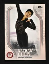 2018 Topps US Winter Olympics Base #USA-17 Nathan Chen