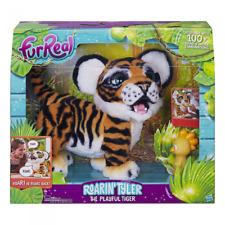 """FurReal Friends FurReal Roarin """"Tyler, le joueur Tiger"""