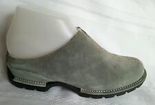 COLE HAAN women's slip on slide on shoes with fur size 6.5M blue suede