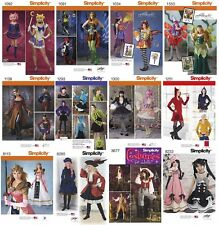 Simplicity Sewing Patterns Misses' Fantasy Costumes Fairies Elves Anime Zelda