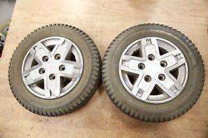 PAIR Quantum Q6 Edge Wheels Tires for Power Chair PR1MO Powertrax 3.00-8 PRIMO