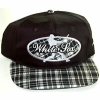 Vintage Chicago White Sox Snap Back Hat Cap - Baseball Man Logo