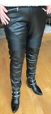 Kunstlederhose Bikerhose Lederimitat schwarz Größe 44 Faux leather trousers