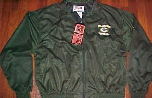 Champion NFL Pro Line On Field NFC Central Green Bay Packers Track Jacket L New