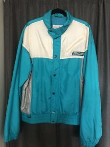 Vintage Men's Polyester Spyder Entrant Thinsulate Ski Jacket Size Large Teal