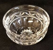 Waterford Crystal Bowl, 4 5/8 x 2 5/8 inches.