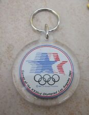 1984 LOS ANGELES Olympics STARS IN MOTION KEY CHAIN