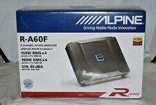 Alpine R-A60F 1200 Watt R-Series 4-Channel Power Density Car Amplifier Brand New
