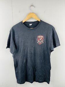 Delta The Original Hot Rod 2014 Men's Vintage Short Sleeve T Shirt Size M Black