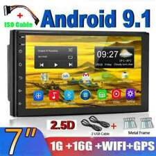 2 Din 7'' Autorradio Android 9.1 Quad Core GPS Navi  Radio de coche MP5 WIFI FM