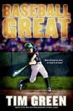 Baseball Great by Tim Green (2009, Hardcover)