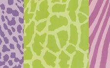 Girls Multi Pastel Animal Skin Wallpaper Border NGB94602