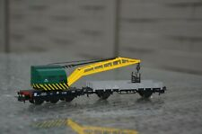 marklin wagon grue SNCB/NMBS la flèche de la grue est mobile,la grue pivote