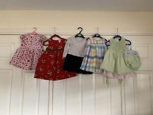 GAP RALPH LAUREN Baby Girl Bundle 12-18 18 - 24 months Dress
