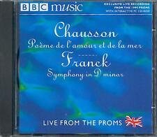 CHAUSSON: POEME DE L'AMOUR ET DE LA MER / FRANCK: SYMPHONY IN D MINOR / OTAKA ++