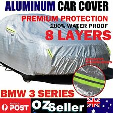 For BMW 3 Series 318 320i 325i 335 Waterproof Breathable UV Aluminum Car Cover