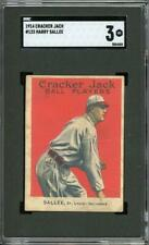 1914 Cracker Jack #123 Sallee - St. Louis Cardinals - SGC 3