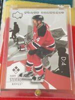 2003-04 Upper Deck Black Diamond 133 Scott Stevens New Jersey Devils Hockey Card