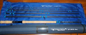 Spey Fly Fishing Rod #9/10 wt.   14 ft. 6 Sec .w/Tube  FREE PRIORITY  SHIPPING