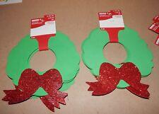 Christmas Foam Ornament Shapes 8 pc Kits & Crafts Xmas Wreaths Creatology 148F