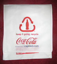 COCA COLA UK TRUCK TOUR MEMORABILIA. **VERY RARE BAG ONLY GIVEN TO SELECT FEW**