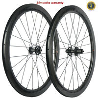 700C Disc Brake Wheels 50mm 25mm Clincher Road Bike Carbon Wheelset Disc Brake