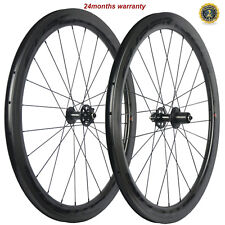 SUPERTEAM Road disc Brake Wheelset Bicycle Clincher Cyclocross 25mm Carbon Wheel