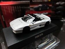 Kyosho - Ferrari Minicar Collection 9 NEO - F355 GTS - Silver - 1/64 - Mini Car