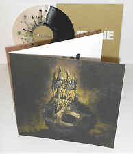 The DEVIL WEARS PRADA dead throne LP Black and CLEAR with GREEN SPLATTER Vinyl