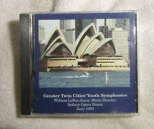 Greater Twin Cities' Youth Symphonies 1992 Sydney Opera House William Jones