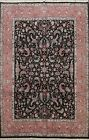 Floral Traditional Tebriz Chinese Area Rug Wool/ Silk Hand-knotted 8'x10' Carpet