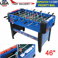 """NEW 46"""" Foosball Soccer Table Competition Sized Football Arcade Indoor Game Room"""