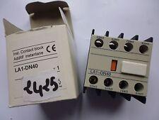 LA1-DN40 setpoint TELEMECANIQUE contacts auxiliaire auxiliary switch LC1D 4 x NO