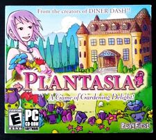 PLANTASIA - A Game of Gardening Delight (2006) PC CD-Rom - New & Sealed