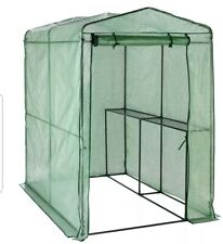 MCGREGOR LARGE WALK IN GREENHOUSE, POTTING, PLANTER, GARDEN GROW HOUSE SHED
