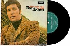"TOM JONES - GREEN, GREEN GRASS OF HOME - EP 7"" 45 RECORD PIC SLV 1967"
