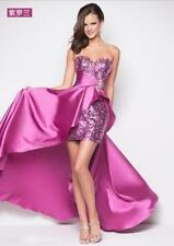 Womens Sequins Prom Dresses Party Long Dress Evening Gown Formal Dresses Sexy sz