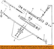 GM OEM Steering Gear-Tie Rod 7849350