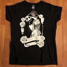 Tim Burton's : Nightmare before Christmas - T-Shirt LADIES NEW